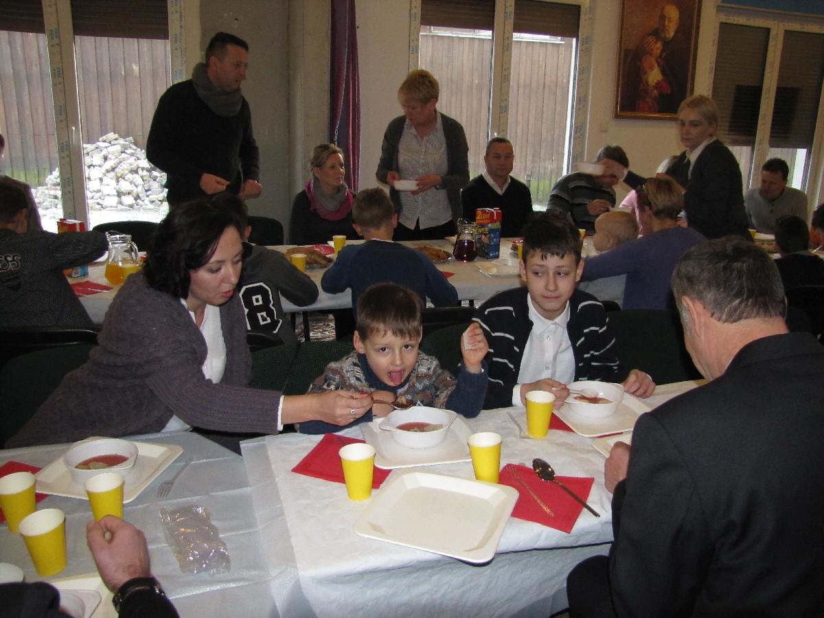 Parafia Alberta Świebodzice Opłatek z Ministrantami
