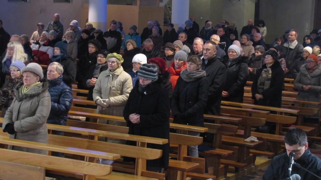 Msza św. w intencji ks. Zenona Kowalskiego, kościół św. Brata Alberta Świebodzice