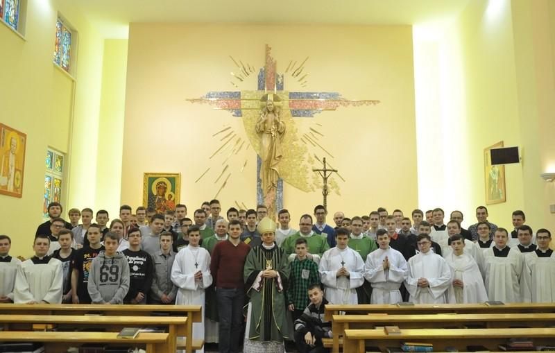 Rekolekcje powołaniowe 2016, parafia Św. Brata Alberta w Świebodzicach
