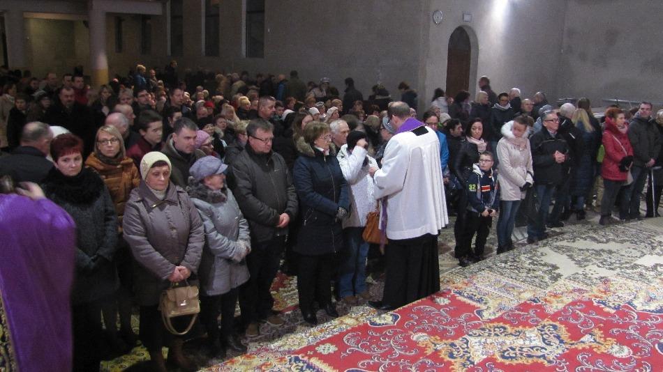 Środa popielcowa, kościół św. Brata Alberta Świebodzice