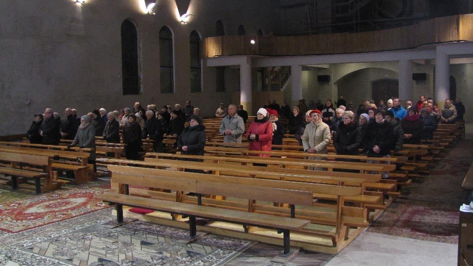 Namaszczenie chorych, kościół św. Brata Alberta Świebodzice