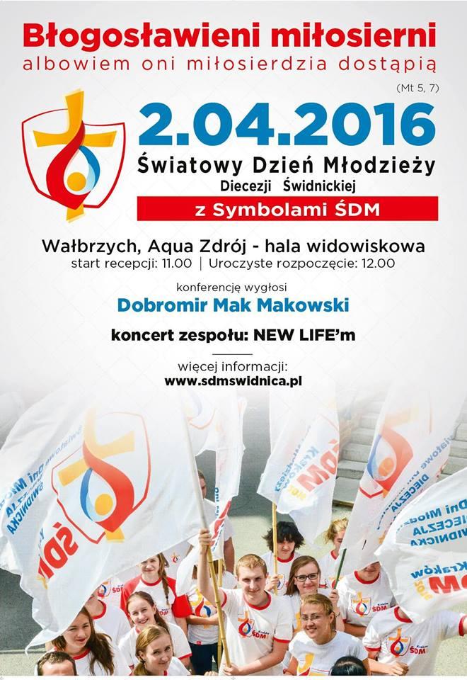 Dzień Młodzieży Wałbrzych, diecezja świdnicka