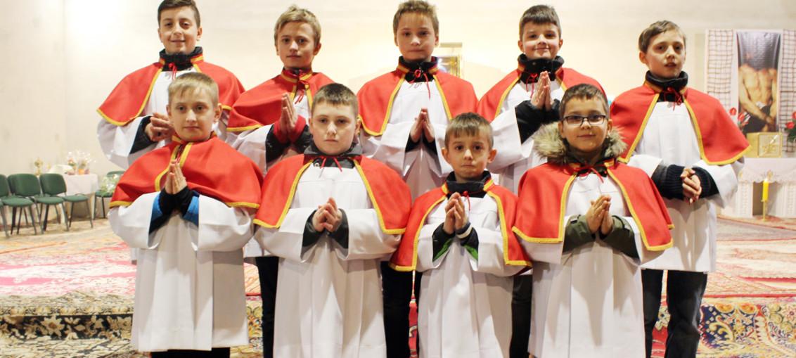 Promocja ministrantów 2016, Świebodzice, Św. Brat Albert
