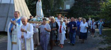 Nabożeństwo Fatimskie, lipiec 2016, parafia św. Brata Alberta Świebodzice