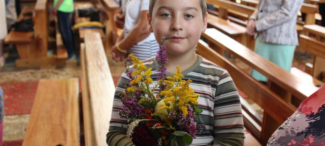 Wniebowzięcie NMP, poświęcenie ziół, parafia św. Brata Alberta Świebodzice