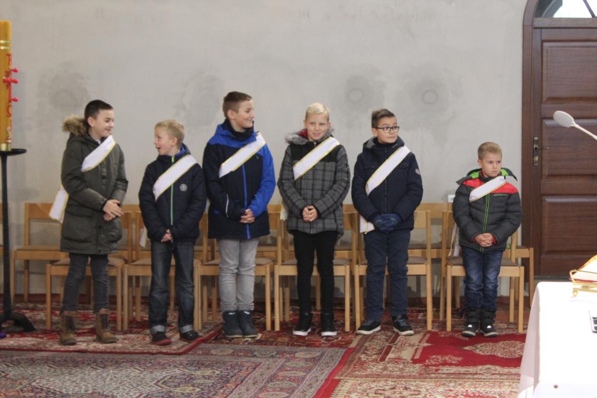 Kandydaci na ministrantów 2016, Św. Brat Albert Świebodzice