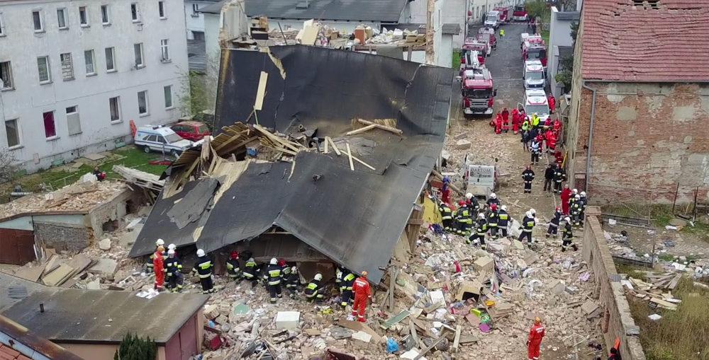 Katastrona budowlana Świebodzice