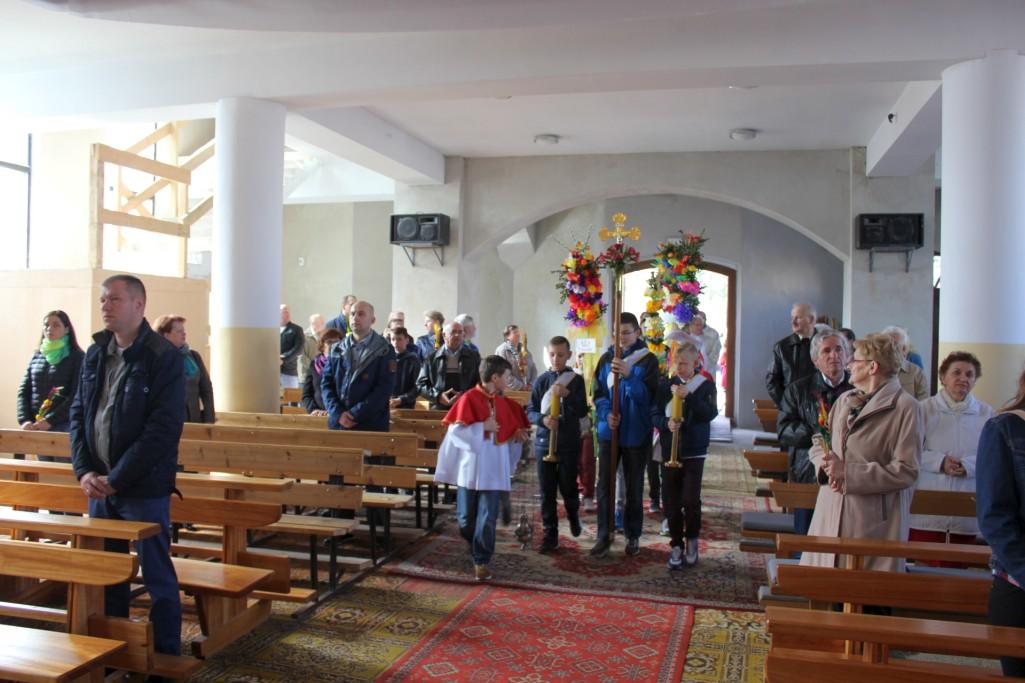 Niedziela Palmowa, procesja, Św. Brat Albert, Świebodzice