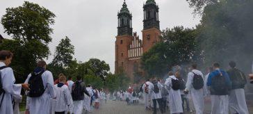Pielgrzymka ministrantów Poznań 2017, par. Św. Brat Albert Świebodzice