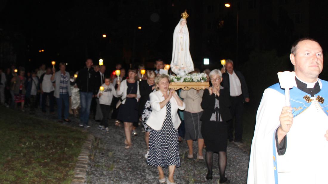 Nabożeństwo fatimskie, sierpień 2017, par. Św. Brata Alberta Świebodzice