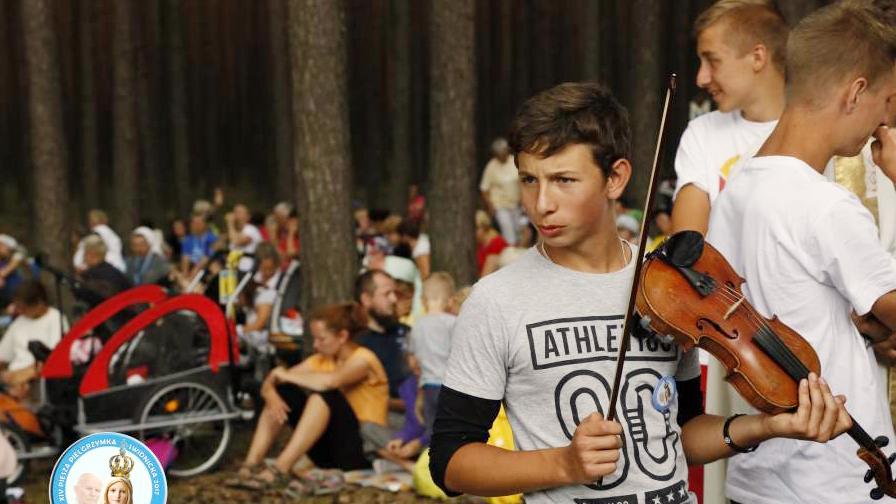 Piotr Kupiec, skrzypce, pielgrzymka Jasna Góra 2017