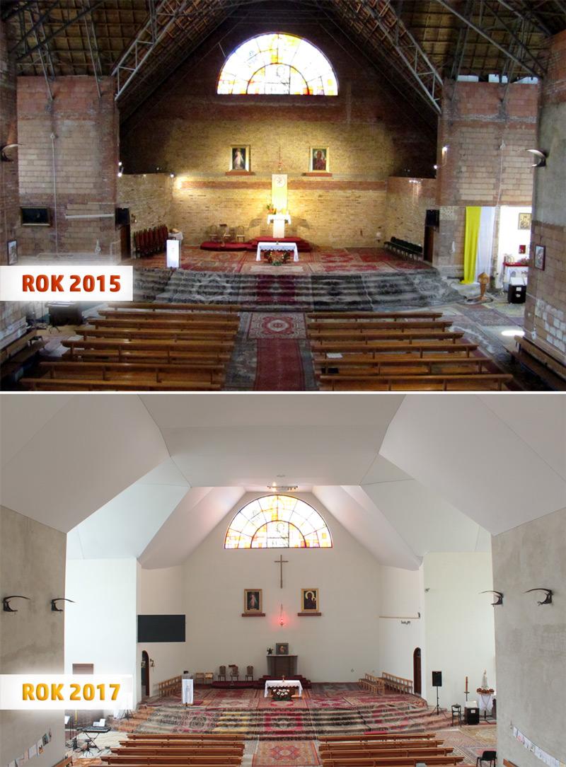 Kościół Św. Brata Alberta Świebodzice 2015-2017
