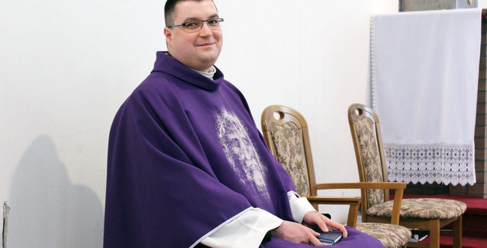 ks. Piotr Gołuch, rekolekcje wielkopostne, Świebodzice Św. Brat Albert