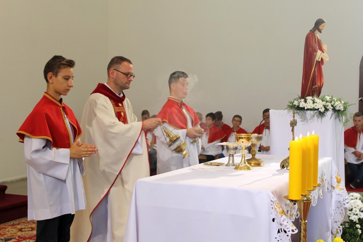 Boże Ciało 2018, Świebodzice, Św. Brat Albert