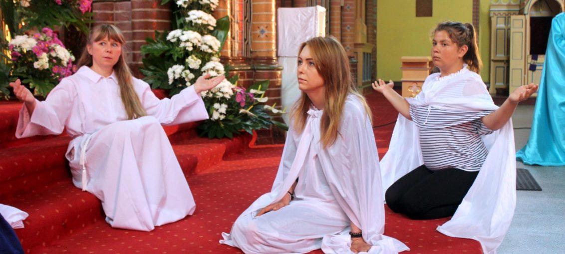 Ewangelizacyjna Grupa Teatralna, występ w Bielawie, Świebodzice Św. Brat Albert