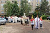 Nabożeństwo fatimskie, czerwiec 2018, Świebodzice Św. Brat Albert